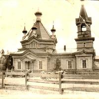 Деревянная церковь в с.Соболи
