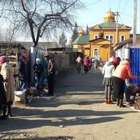 Свято-Никольский храм. Нижнеудинск. Ве́рбное воскресе́нье