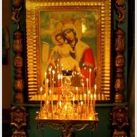"""Местночтимая икона Пресвятой Богородица """"Достойно Есть"""""""