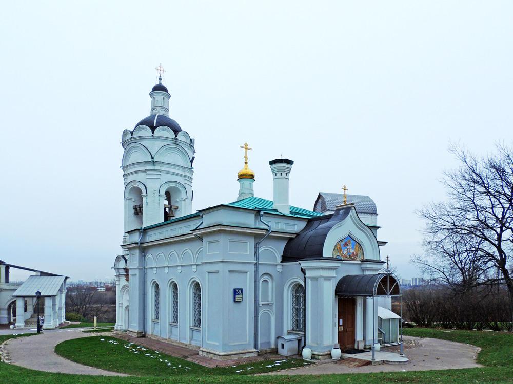 Церковь георгия победоносца коломенское