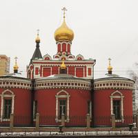 """Церковь иконы Божией Матери """"Нечаянная Радость"""" в Марьиной роще."""
