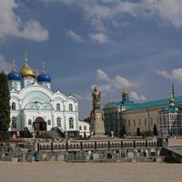 Задонский Рождество - Богородицкий мужской монастырь.