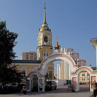 Колокольня храма Всех Святых