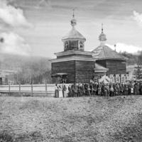 Алексеевский храм в с. Коченгском
