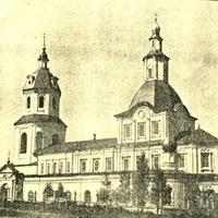 Старый каменный Никольский храм