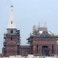 Строящийся храм Святых апостолов Петра и Павла