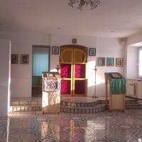 Интерьер молельного дома