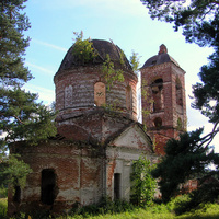 Церковь Илии Пророка. Гора Новоселка.