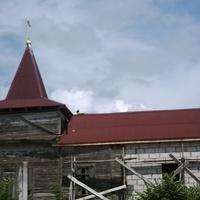 Современный вид Николаевского храма с. Григоровка