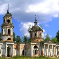 Церковь Вознесения Господня. Елпатьево.