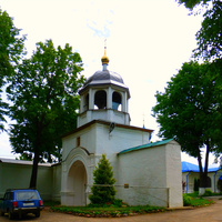 Федоровский монастырь.  Звонница над Святыми воротами.