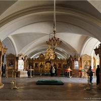 Спасо-Преображенский собор Нижний храм