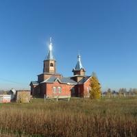 Никольский храм в Лебяжьем